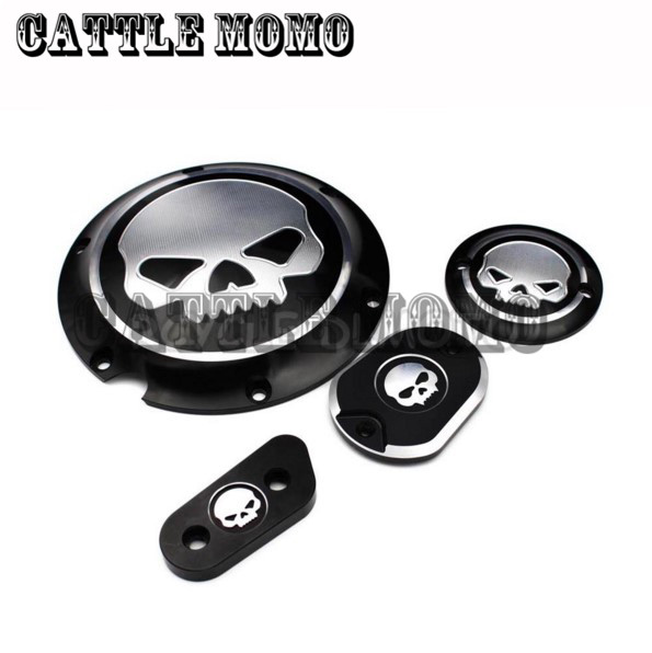 Deep Cut Motorcycle Derby Timing Timer Covers For Harley Sportster XL 883 1200 2004-2009 2010 2011 2012 2013 2014 2015 2016 black cnc derby timing timer cover for harley sportster xl883 xl1200 2004 05 06 07 08 09 2010 2011 2014 motorcycle accessories