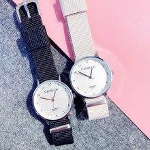 Hot Sale Nylon canvas strap Women Watch Quartz Wristwatch Fashion Casual Women Wrist Watch Ladies Watch Clock Relogio Feminino