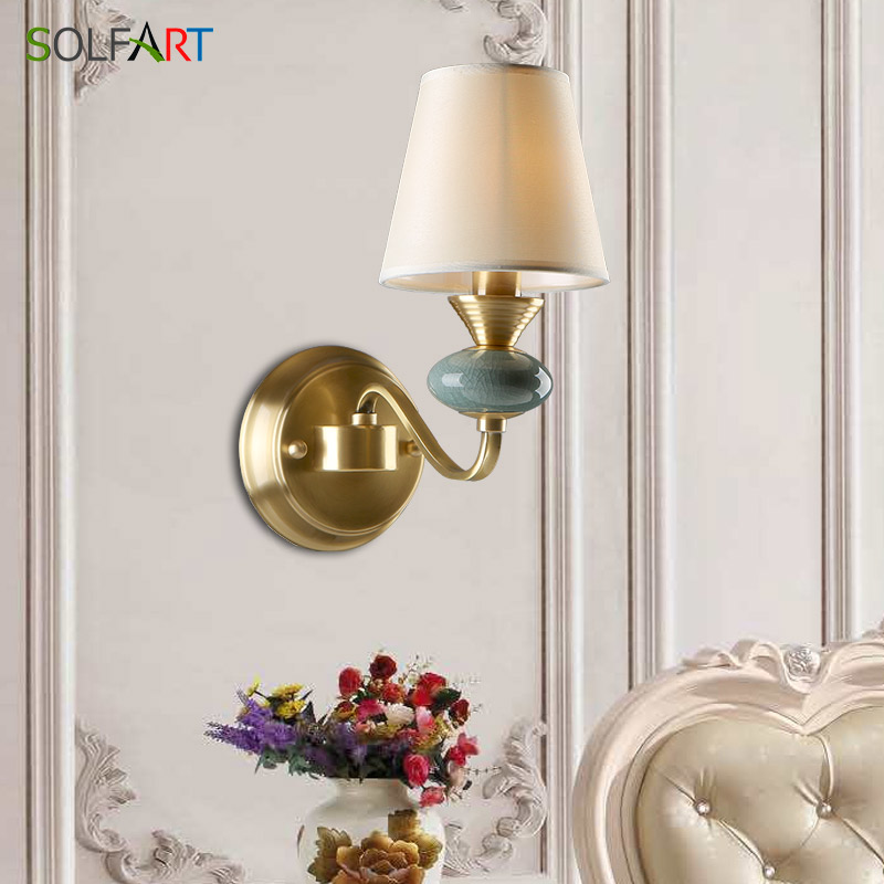 Sconce Wall Lamps European Style For Bedroom Foyer Dining Room Lamp Loft Led Lamp