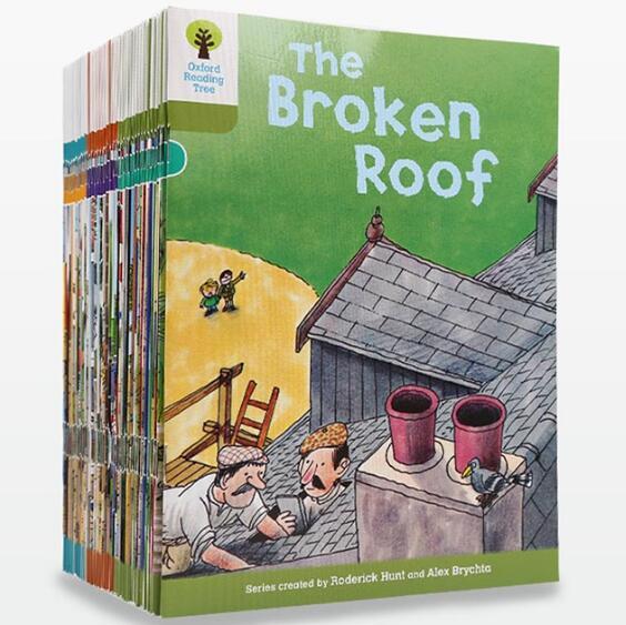 40 권의 책 7 9 수준 옥스포드 독서 나무는 phonics를 읽는 아이를 돕는 것을 배웁니다 영어 이야기 책의  그룹 1