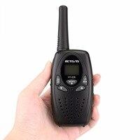 הדרך רדיו uhf 1pc מכשיר הקשר Kids רדיו תחנת RETEVIS RT628 0.5W Hf משדר Ham Radio UHF שני הדרך רדיו J1026 (4)