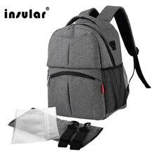 2017 neue stil versandkostenfrei einfarbig baby wickeltasche rucksack multifunktionale mommy bag rucksack wasserdichte windel rucksack