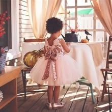 0-2Y Girl Dress Party Birthday Wedding Clothes