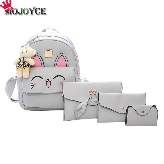96d427cb9003 Женский рюкзак маленький размер модные рюкзаки для девочек-подростков из  искусственной кожи женские рюкзаки с