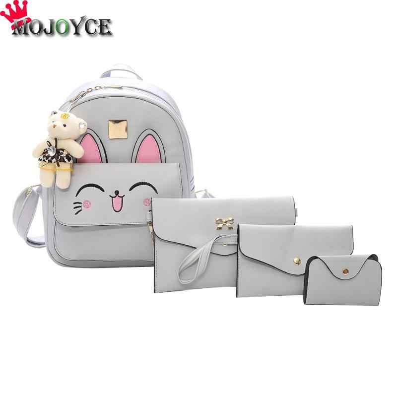 b488b77c Mochila De mujer mochilas de moda de tamaño pequeño para chicas  adolescentes mochilas de cuero PU