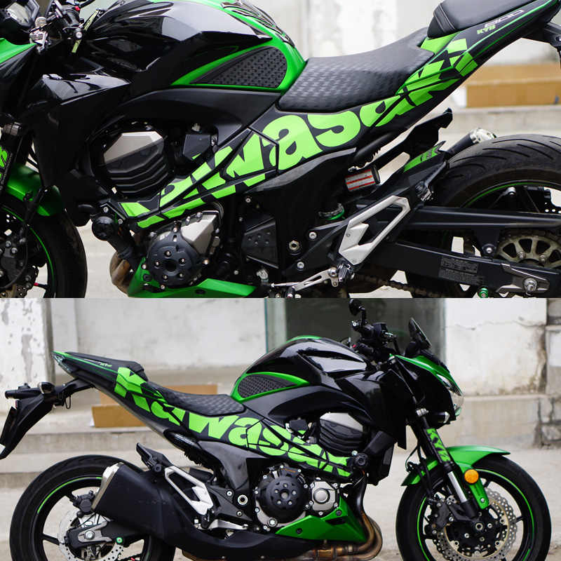 For Kawasaki Z900 Full Sticker Motorcycle Decal Rr Modified