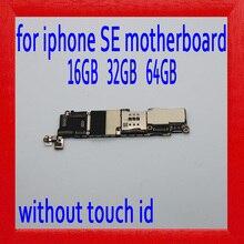 16 ГБ/32 ГБ/64 ГБ для iphone SE материнская плата без Touch ID, оригинальная материнская плата для iphone SE с полной разблокировкой, бесплатная доставка