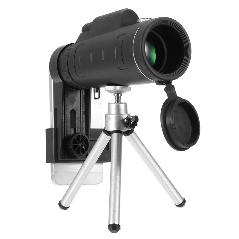 Universal 35X50 Zoom Optic Monocular Telescope Lens Holder Ouedoor Mobile Phone Camera Lens for Smart Phones Observing Camping