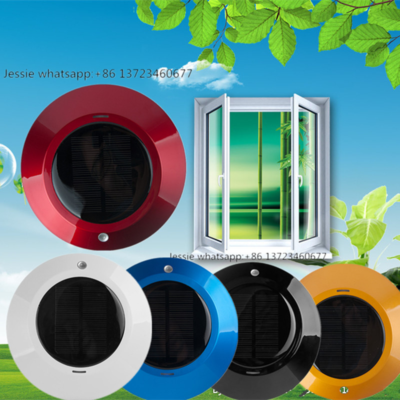 free shipping Solar car air purifier negative ions refreshing air ionizer car air purifie mini bluetooth earphone smallest wireless headset earbuds with 6 hour playtime car headset with mic for iphone android phone