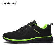 SusuGrace Men Running Shoes new Summer Air Mesh Breathable Adult Male S