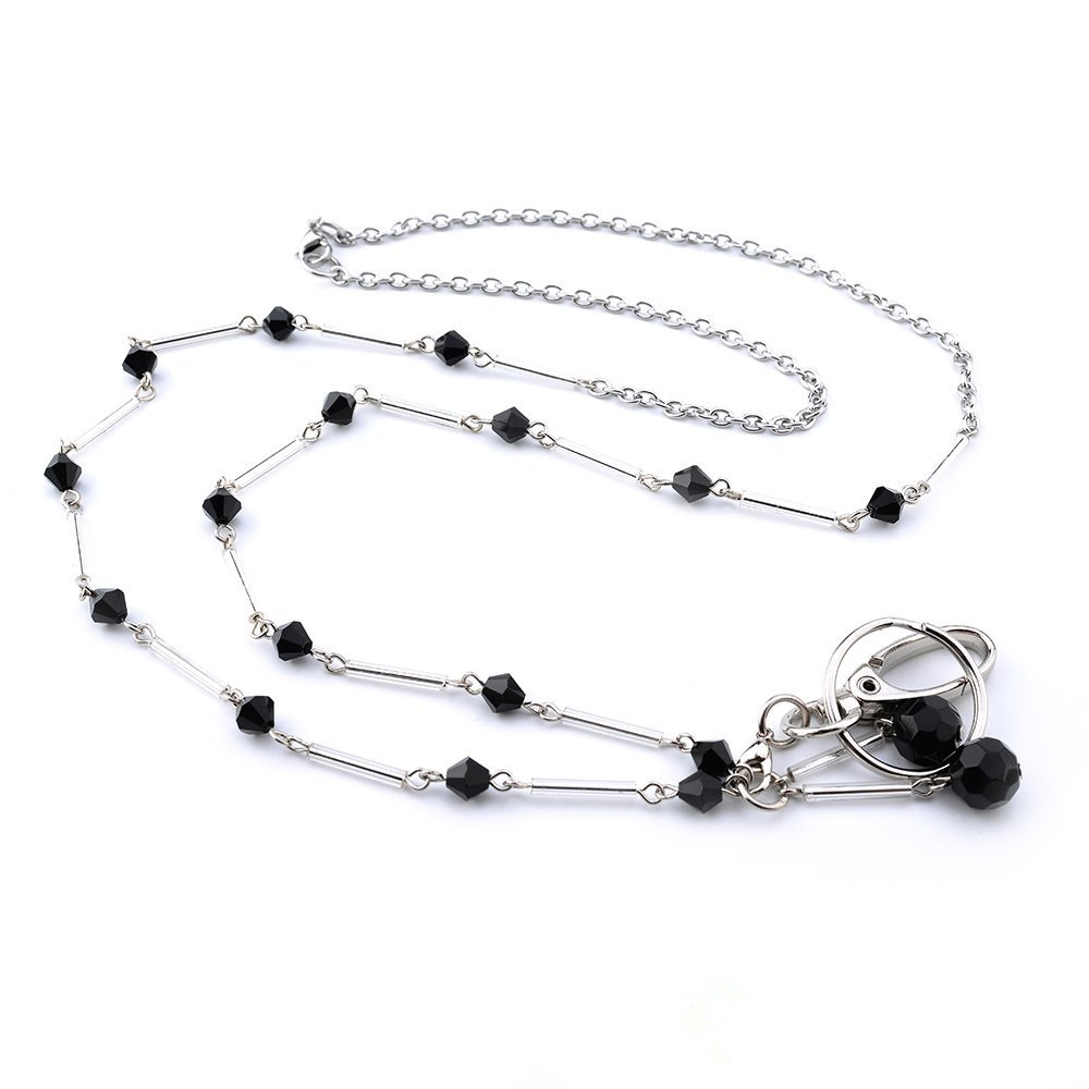 Black Badge Lanyards ID Necklaces ID Badge Holder for teachers, nurses and other OL
