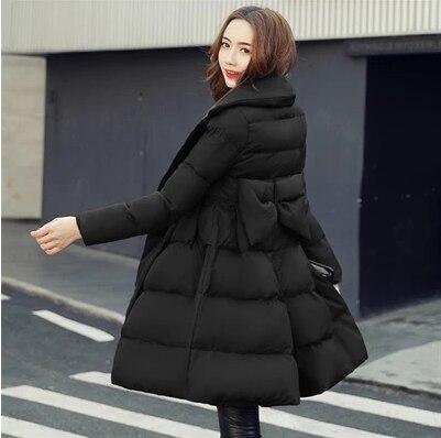 Doudoune Black Manteau Coréenne fuchsia Femmes purple Veste Long Hiver Ayunsue D'hiver 2018 Épais Chaud Mode Et Kj622 Femme Parkas Parka vwFvT7qf