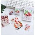 30 blätter/Set Kreative Erdbeere Obst Postkarte/Gruß Karte/Nachricht Karte/Geburtstag Brief Umschlag Geschenk Karte-in Visitenkarten aus Büro- und Schulmaterial bei