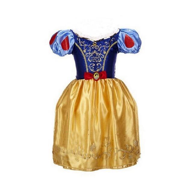 4-10 Anni Bambini Grandi Ragazze Di Natale Carnevale Costume Della Ragazza  Della Principessa Arcobaleno 6690ba40ad9