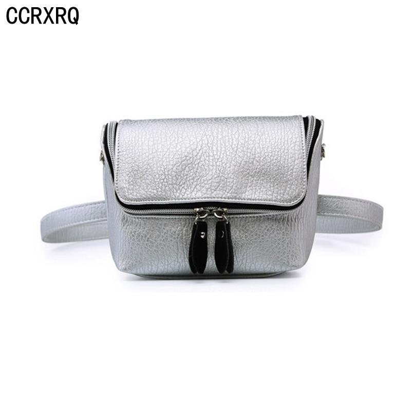 CCRXRQ Waist Bag For Women Belt Bag Handy High Quality Leather Fanny Pack Girl 2019 New Fashion Travel Crossbody Shoulder Bags
