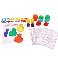 Детские игрушки деревянная головоломка милый мультфильм животное интеллект Дети образовательный мозговой тизер детская головоломка пода