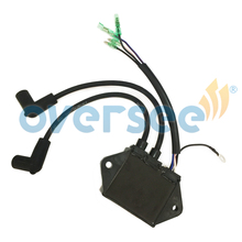 OVERSEE 32900 96340 CDI Ignition Coil Replaces For 2 stroke 25HP 30HP Suzuki Outboard Engine DT25C
