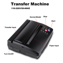 קעקוע מכונה העברת עותק סטנסיל מכונת מדפסת ציור תרמית סטנסיל מעתיק יצרנית עבור קעקוע העברת אספקת נייר