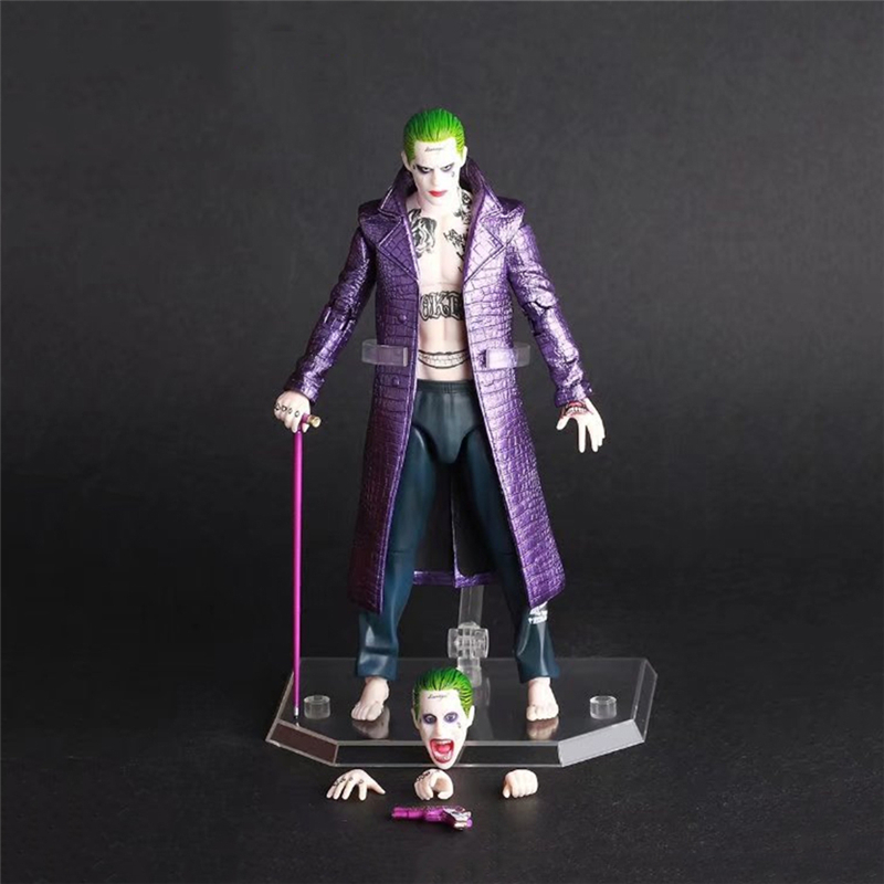 Suicide Squad Clown Action Figure Collectible Model doll toy Super criminal Joker Joint movable toys PVC 1/12th Scale HZW054 1 6 scale figure terminator3 rise of the machines t x kristanna loken 12 action figure doll collectible model plastic toy
