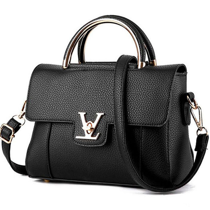 Women Handbag New Female PU Leather Messenger Handbags Exquisite Women Portable Shoulder Bag Top handle Bag