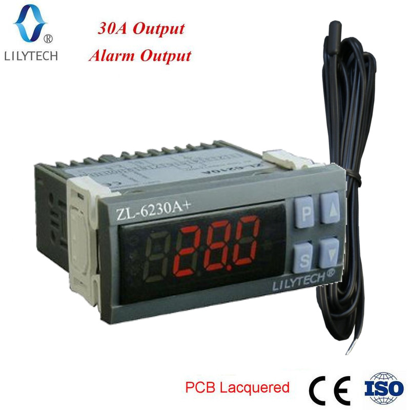 ZL 6230A 30A Output Digital Temperature Controller Thermostat Lilytech in Temperature Instruments from Tools