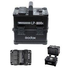 Godox lp-800x 750 Вт portabe Выход инвертор Мощность Батарея для Открытый Studio, открытый studio Мощность Батарея