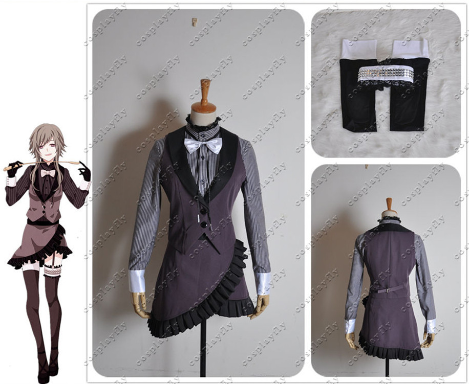 Vocaloid Family Deadline Circus Megpoid GUMI Cosplay Costume Custom Made Any Size Shoes Boots Full Set (W0168)
