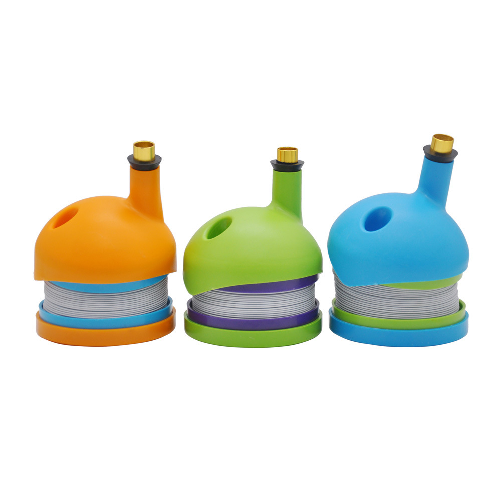 Creative Bucket Style Adjule Smoking Pipes Plastic Smoke Pipe Accessories With Filter Cigarette Weed The