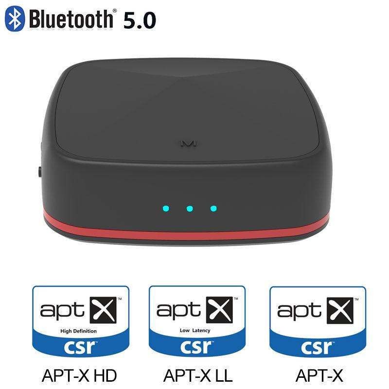 Bluetooth 5.0 récepteur émetteur CSR 8675 aptX HD adaptateur Bluetooth aptX faible latence sans fil optique Audio RCA Support AAC