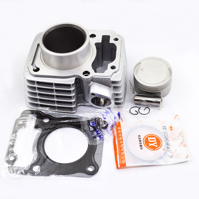 Motorcycle Cylinder Piston Ring Gasket Kit STD 63.5mm 65.5mm Bore for Honda XR150L XR150LEKE <font><b>CBF150</b></font> CBF 150 CG 150 TITAN image