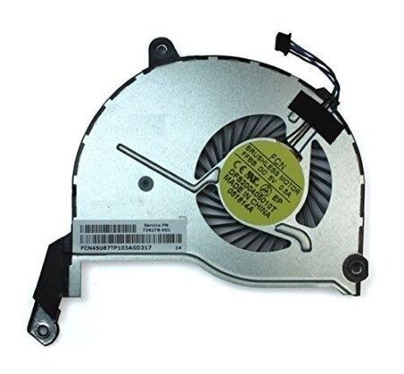New cpu laptop cooling fan para hp touchsmart 15n series para hp pavilion 15 laptop (4-pin) 736278-001