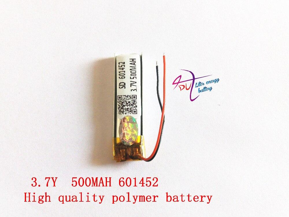 buy polymer battery 500 mah 3 7 v 601452 smart home mp3 speakers li ion battery. Black Bedroom Furniture Sets. Home Design Ideas