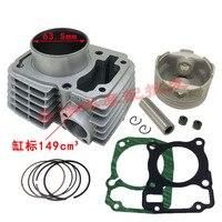 Motorcycle Cylinder Piston Gasket Kit Big Bore 63.5mm for Honda CBF125 Upgrade CBF185 XR125L GLR125 CARGO GLH125 GR125 CGR125