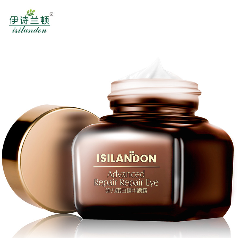 ISILANDON Collagen Luxe Eye Cream Skin Care Anti-Aging Wrinkles Puffiness Lift Firming Dark Circles Free Shipping Eye Care New