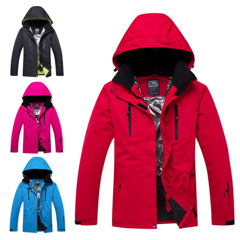 Combinaison de ski d'hiver hommes vestes de Ski en plein air coupe-vent veste de neige de snowboard super chaud grande taille femme haute qualité veste chaude