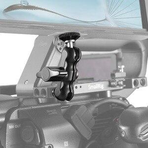Image 5 - Petit bras magique universel réglable avec petite tête à billes pour moniteur de caméra/Support de lumière LED avec vis 1/4
