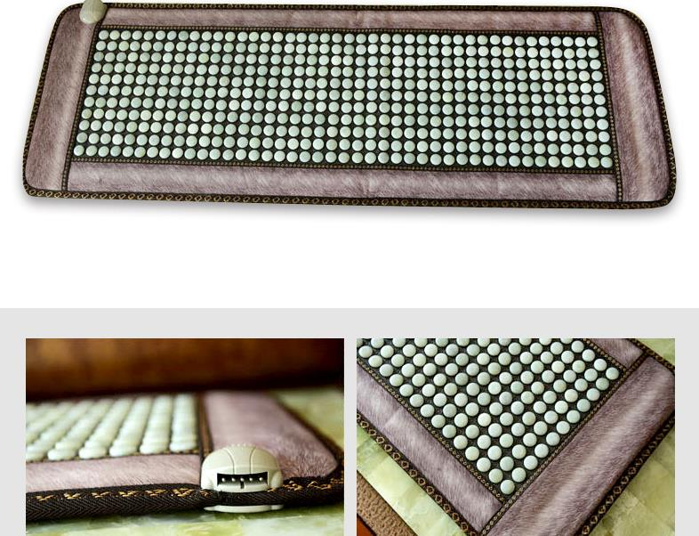 Jade germanium stone ms tomalin electric heating sofa cushion household health massage mattress of the four seasons 2016 natural heating germanium thermal massage cushion massage mattress health care 3 size for you choice