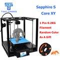 De alta precisión de zafiro S/S1/S2/S3 perfil de aluminio MARCO DE 3D DIY Kit de impresora con el área CoreXY sistema de área grande 200*200mm Core XY