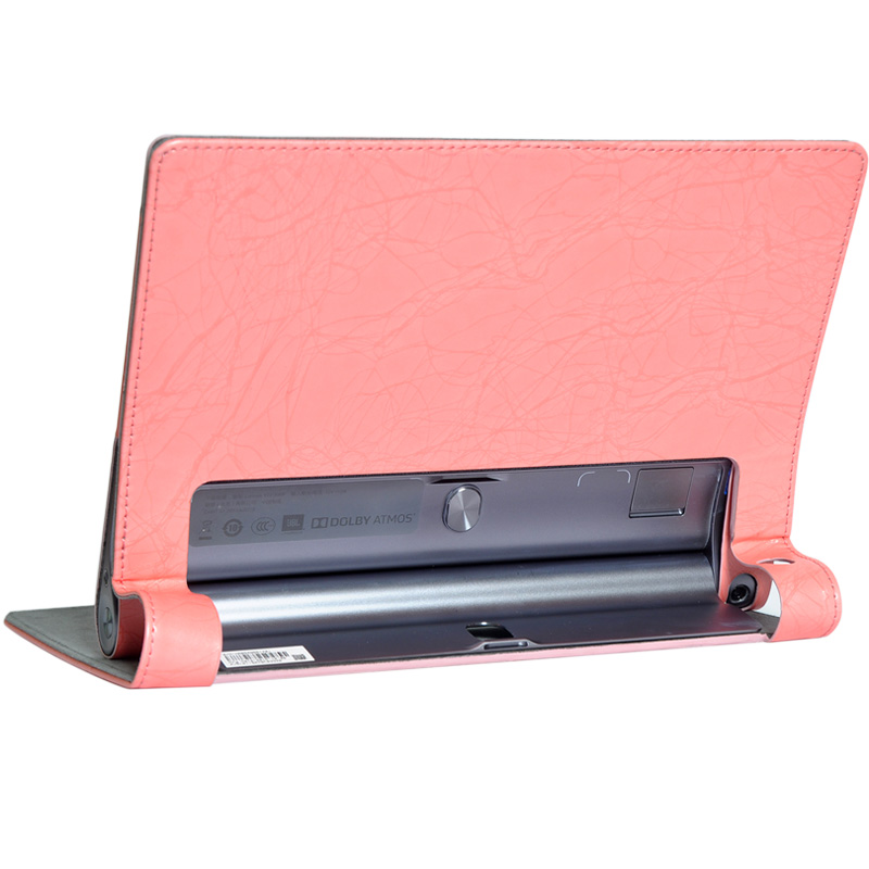 Print Flower PU Leather Cover with Stand for Lenovo Yoga Tab 3 Plus 10.1 inch Tablet Case + Stylus Pen