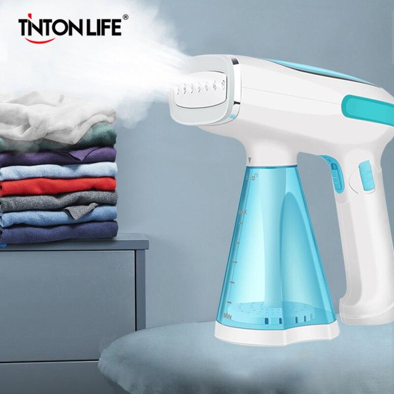 TINTON LIFE Mini Portable Portable vêtement vapeur voyage électrique vapeur brosse fer pour vêtements repassage Machine appareils ménagers