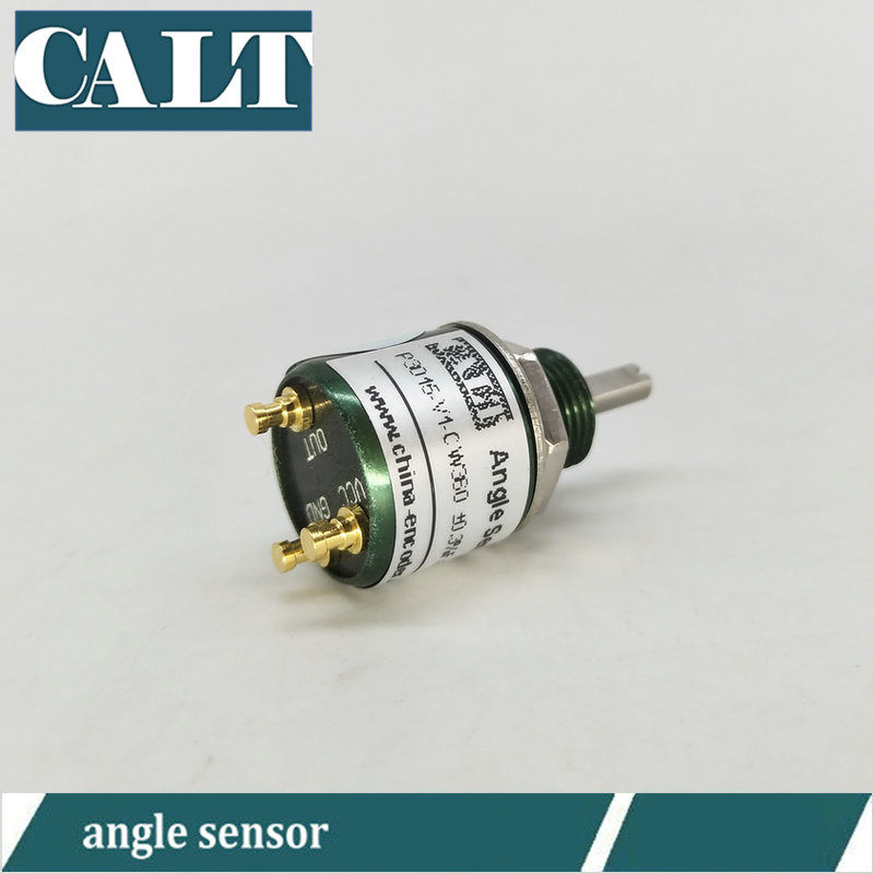 contactless angle sensor P3015 miniature absolute position sensor 3mm shaft measure 0-360 degree 0-5v output potentiometercontactless angle sensor P3015 miniature absolute position sensor 3mm shaft measure 0-360 degree 0-5v output potentiometer
