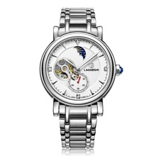 Relogio Brand Luxury Casual Sports Mechanical Watches Men Full Stainless Steel Watch Military Tourbillon Wristwatch Reloj SALE
