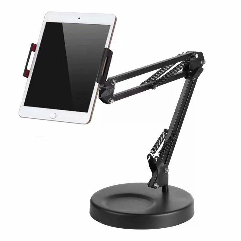 Universel 360 Rotation bureau Long bras téléphone tablette Support pour iPad Pro pour iPhone Smartphone Table Stent Support Flexible