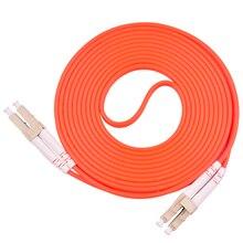 5 sztuk/partia kabel zworki Duplex wielomodowy LC LC LC do LC światłowodowy Patch Patch