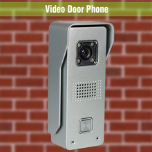 Door Phone Doorbell Intercom System Night Vision Video Door Bell Waterproof Video Doorphone Intercom Aluminum alloy