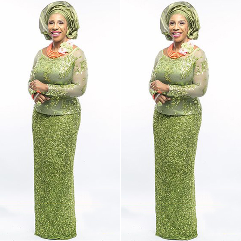 African Style Evening Dress