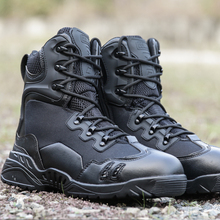 2017 black spider boots hiking winter advanced tactics male adventure waterproof boots products outdoor desert hiking boots