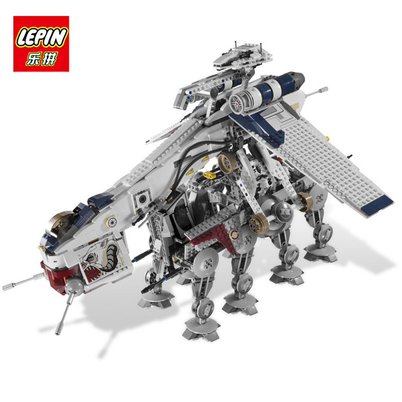 LEPIN 05053 Star Series Wars The Republic Dropship Building Blocks assembled Compatible 10195 Educational toys for children Gift star wars the old republic в латвии