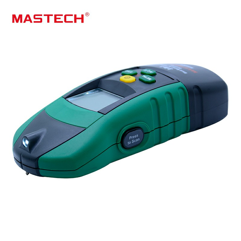 MASTECH MS6906 3 in 1 Multi-function Stud Metal AC Voltage Scanner Detector Tester Thickness Gauge w/ NCV Tester +Wood detector