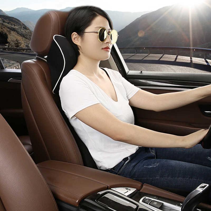 Autostoel Hoofdsteun Geheugen Katoen Nekkussen Auto Accessoires voor Mercedes benz E klasse W210 W211 W212 W213 w124 skoda SUPERB 2 3